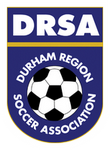 Durham Region Soccer League logo